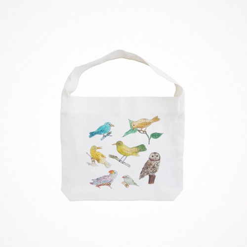 포그리넨워크 isabelle boinot - bird bag