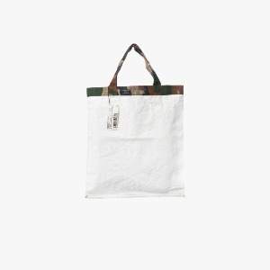 푸에브코 shopping bag - camo white