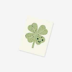 nature's friends notebook - clover