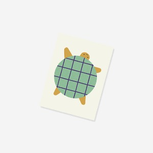 nature's friends notebook - turtle