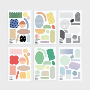 block sticker set (3종)