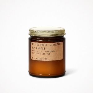 soy candle 7.2oz - sweet grapefruit