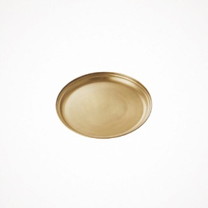 포그리넨워크 brass serving tray - round M