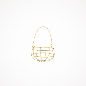 포그리넨워크 brass hanging basket - M