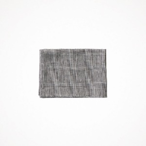 포그리넨워크 linen kitchen cloth - glen check