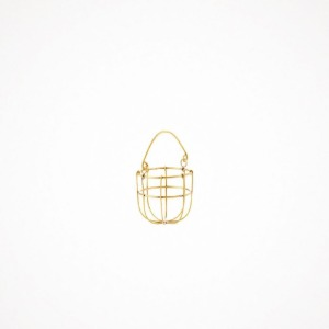 포그리넨워크 brass hanging basket - S