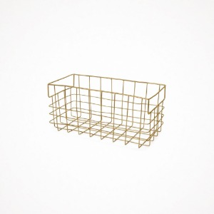 포그리넨워크 brass wire basket - L
